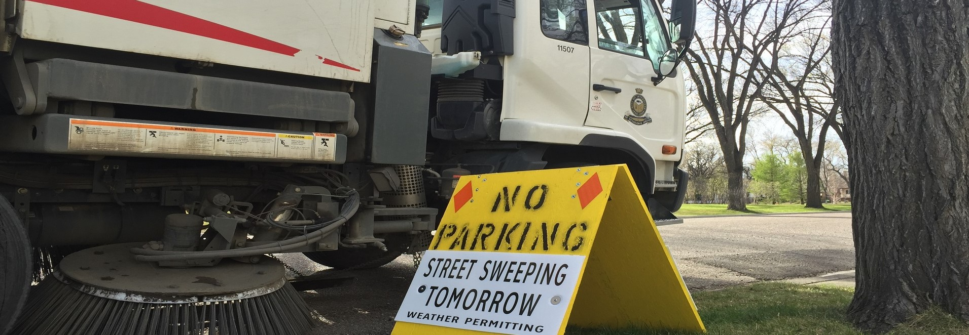 <div id=slideshow_title>Street Sweeping August 24th</div> <br>Street sweeping will occur on Saturday, August 24th. Please move all vehicles off street by 7 a.m. the morning of so crews can properly clean.
