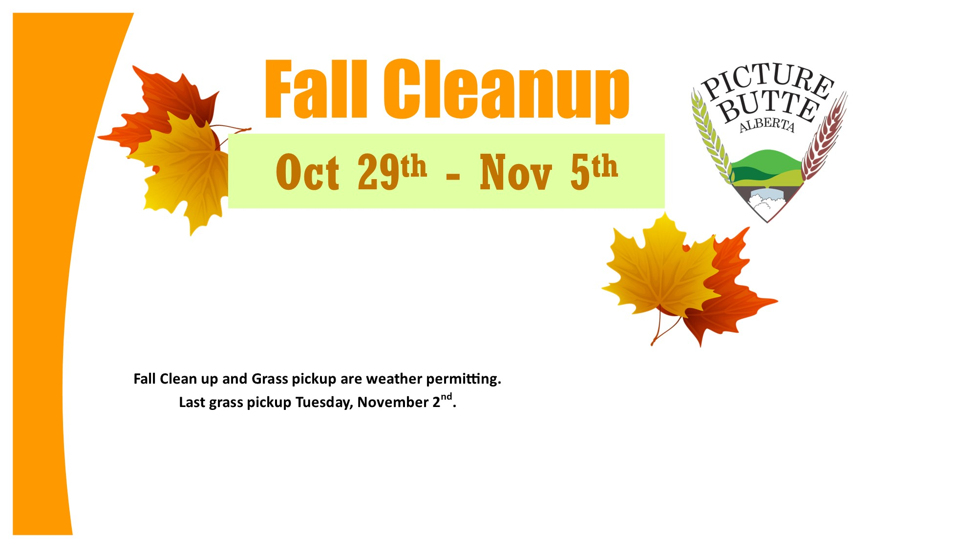 <div id=slideshow_title>Fall Cleanup</div> <br>Click photo for more details.